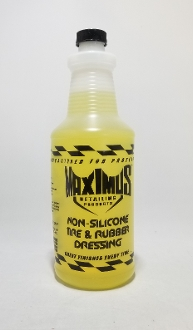32 OZ MAXIMUS NON-SILICONE TIRE & RUBBER DRESSING